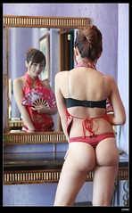 nEO_IMG_DP1U0725 (c0466art) Tags: old light red portrait motion face canon pose nose high pretty underwear sweet room gorgeous chinese style motel lips round attractive hip charming elegant sext 1dx c0466art