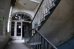 Beelitz Heilstätten (sensaos) Tags: urban abandoned germany deutschland decay exploring corridor hallway forgotten sanatorium exploration derelict abandonment trespassing ue urbex 2015 beelitz heilstätten sensaos