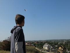 (GrusiaKot) Tags: boy butterfly ukraine farfalla ragazzo ucraina