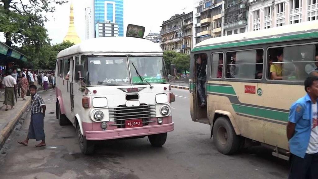 xe buýt Myanmar