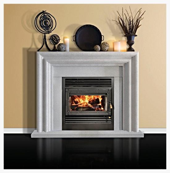 RSF Onyx wood burning fireplace