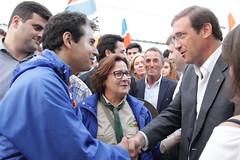 Pedro Passos Coelho e Paulo Portas no Distrito de Aveiro