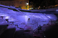 Plovdiv - Roman stadium (lyura183) Tags: night bulgaria plovdiv ancienttimes българия пловдив