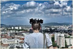 Ljubljana (Giorgio Finessi) Tags: panorama look nuvole sguardo cielo ljubljana ragazza dietro citt dallalto