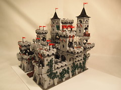 lego modular castle 5 (michaelkalkwarf) Tags: building castle michael lego medieval modular drawbridge custom ideas fortress creations moc brickcon kalkwarf