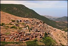 Berber Village (Aimless Alliterations) Tags: mountains northafrica atlasmountains morocco berber nikkor80200mm berbervillage nikond80 sidifaress