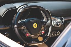 Ferrari Details (SupercarCam) Tags: black cars car speed canon italian automobile houston fast convertible automotive ferrari spyder luxury supercar automobiles sportscar 458 teamcanon 458italia automotivating