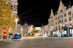 Erfurt Anger (DoubleE87) Tags: night nikon nacht erfurt tokina elefant maus langzeitbelichtung 1224f4 d7100 strasenbahn