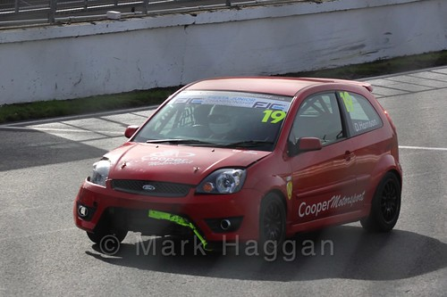 Danny Harrison in Fiesta Junior Championship, Brands Hatch, 2015