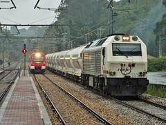 463+333 (firedmanager) Tags: asturias 333 prima caf 463 ferrocarril freighttrain renfe emd vossloh railtransport renfeoperadora renfemercancías