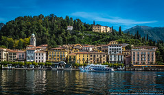 Bellagio, Lake Como (Chris Gouge) Tags: life street city travel urban italy lake holiday milan colour tourism nature landscape town holidays colorful europe tourists traveller explore bellagio colourful naturalbeauty exploration lakecomo everydaylife griante