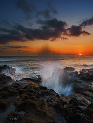 Splash (Jose Hamra Images) Tags: sunset bali sunrise canggu seseh
