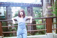 KUN_3814 () Tags: portrait woman cute beauty 35mm nikon f14 g kawaii brunette charming   3514          jingtongstation   d3s nikonafsnikkor35mmf14g pingxistation 2015201504