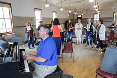 Maucha Adnet leads vocalist class at 2015 Port Townsend Jazz Workshop (Centrum Foundation) Tags: usa wednesday jazz workshop porttownsend wa centrum vocalists 2015 mauchaadnet jazzporttownsend ericverlinde