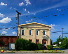 New York Central Freight House, Buffalo, NY (DTA_7659) (masinka) Tags: old railroad house ny newyork history buffalo central railway historic riverfest oldest freighthouse ohiost etbtsy