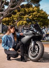 DSC_9261 (Steven Lenoir) Tags: yamaha yamahar1 r1 yammie sportbike sportsbike streetbike teamyamaha moto motorcycle harborisland sandiego sd model downtownsandiego bay