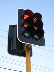 2016 Perth Tour - Braums Traffic Lights at Dusk (RS 1990) Tags: perth westernaustralia australia bayswater wa november 2016 morley dianella braums trafficlights signals dusk