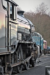 Gresley K4 class, 61994 (mike_j's photos) Tags: northyorkshiremoors railway grosmont mpd k4class 61994 gresley thegreatmarquess