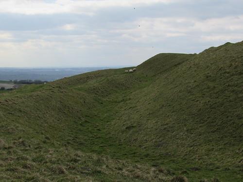 Uffington: White Horse Hill (Oxfordshire)