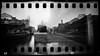 Venezia doppia  (pinhole) (danielesandri) Tags: venezia veneto alzalacresta pinhole fomapan film pellicola biancoenero bw forostenopeico 35mm
