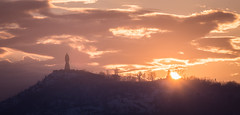 Sunset (blooddrainer) Tags: sunset nature sky winter sun plovdiv
