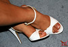 Very used white sandals (Claudio (Tania Zandalz - wife)) Tags: high heels shoes fetish mature sexy latina kapikua1 milf female woman wife amateur mexico feet toes arch nail polish french pedicure sandals anklet toe imprints dirty marks used tacones altos zapatos fetiche madura femenina mujer esposa pies dedos arco barniz uñas francés sandalias tobillera marcas sucio usado
