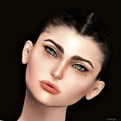 Eurídice 2.0 (Eurídice Qork) Tags: model fashion face mesh head lelutka secondlife sl soul eyes people portrait photoshop