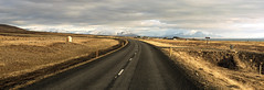 road trip moments of happiness (lunaryuna) Tags: iceland northiceland landscape panorama panoramicviews road curve uparoundthebend sweepinglandscape snowcappedmountains farm homestead fences spring season seasonalchange thelightfantastic lightmood lunaryuna hafnarfjordur