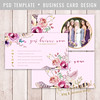 Layered Photoshop Template (daphnepopuliers) Tags: psd photoshop adobe template layered card photocard cardtemplate businesscard callingcard visitecard marketing business