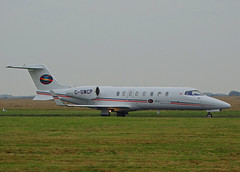 C-GMCP Learjet 45 of Skyservice Canada Air Ambulance (SteveDHall) Tags: aircraft airport aviation airfield aerodrome blackpool blackpoolairport 2017 bizjet biz businessjet privatejet executivejet corporatejet skyservice canada airambulance ambulance cgmcp learjet45 learjet lj45