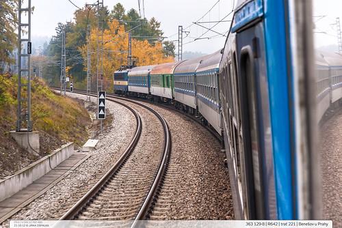 363.129-8 | R642 | trať 221 | Benešov u Prahy