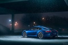 Porsche 911 Carrera S (Mikhail Sharov) Tags: environment transport vehicle car atmosphere coupe retouch weather outdoor porsche winter