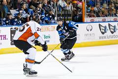 "Missouri Mavericks vs. Wichita Thunder, January 7, 2017, Silverstein Eye Centers Arena, Independence, Missouri.  Photo: John Howe / Howe Creative Photography • <a style=""font-size:0.8em;"" href=""http://www.flickr.com/photos/134016632@N02/31872456060/"" target=""_blank"">View on Flickr</a>"