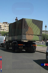 BDQJ09-4055 RENAULT G290 VTL (milinme.myjpo) Tags: frencharmy renault g290 vtl véhicule de transport logistique remorque rm19 trailer bastilleday