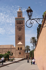 The Booksellers' Mosque (ƒliçkrwåy) Tags: koutoubia mosque islam morocco building