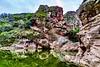 Rock Pool ((Jessica)) Tags: malibucreek malibucreekstatepark statepark california rockpool rock rocks water hike hiking losangeles la southerncalifornia overcast outdoors wideangle sonyalpha sony sonya6000 rokinon rokinon12mm geology