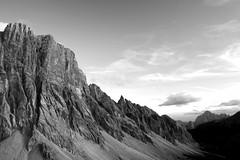 Dolomiti (johannesotte84) Tags: black white dolomiten dolomites dolomiti italy mountain hiking bike civetta la grande otte canon rebel 1000d