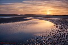 A Winter Sunset (TDR Photographic) Tags: canon dorset dorsetcoastpath england studland thedorsetrambler uk coast contrejour eos5d evening landscape light possibles sea sunset