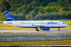 "TPA.2011 # B6 A320 N583JB ""Bluesville"" awp (CHR / AeroWorldpictures Team) Tags: jetblue airways airbus a320232 cn 2150 engines 2x iae v2527a5 reg n583jb aircraft name bluesville history 26nov2003 first flight test fwwii toulouse tls france 07jan2004 delivered jetblueairways b6 jbu config cabin y150 a320 a320200 plane aircrafts planespotting airplanes airlines tampa airport tpa ktpa florida fl usa twy nikon d300s raw zoomlenses 70300vr nikkor lr5 lightroom awp"