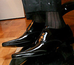 newpatents17_3320920028_o (shinydressshoes) Tags: dress shoes dressshoes shiny shinyshoes patent leather formal oxfords pointed balmorals sheer sheers socks sox lackschuh anzug suit tux tuxedo shoeporn lackschuhe laceup