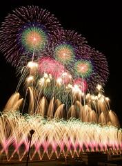 ツインリンクもてぎ花火の祭典〜冬〜 Fireworks Festival in Winter at Twin Ring Motegi (ELCAN KE-7A) Tags: 日本 japan 栃木 tochigi 茂木 motegi ツインリンク twin ring サーキット circuit 花火 fireworks 菊屋小幡 kikuyaobata 冬 winter pentax k5ⅱs 2017