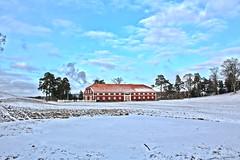 Fredriksten kro (Skau) Tags: fredriksten festning halden norway snow fortress