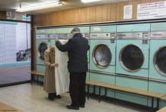 Till Death do us part Barbican © (wpnewington) Tags: launderette couples love sweethearts commitment barbican colour washing beautiful laundry
