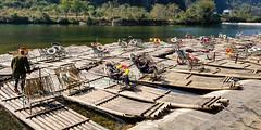 Nap (GavinZ) Tags: river yangshuo china bambooraft boats bamboo people nap sleep asia