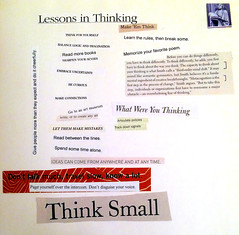 Lessons in Thinking (byzantiumbooks) Tags: words text thinking quotes