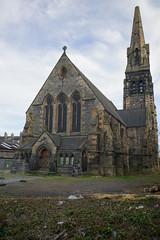 Former St. James's Episcopal Church, Leith (David_Leicafan) Tags: 28mmsummicron edinburgh leith church robertrowandanderson georgegilbertscott gothic disused heritage