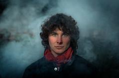 TW (Mike Brönnimann) Tags: rot smoke mystery fog man boy teen young curly hair dark low key artsy bullshit long portrait male