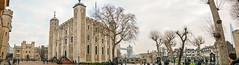 ... Tower ... (wolli s) Tags: flickr london tower towerbridge whitetower panorama stitched england vereinigteskönigreich gb