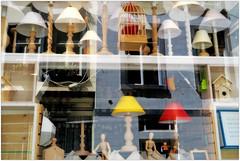 Une vitrine à Spa, Belgium