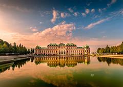Schloss Belvedere (Michele Naro) Tags: schlossbelvedere wien vienna visitvienna austria bassaaustria niederoesterreich oesterreich belvederepalace belvedere nikond80 nikon samyang14mmf28
